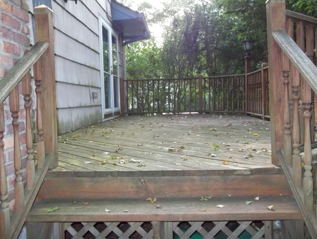 Pressure Wash Deck Before Sealing
