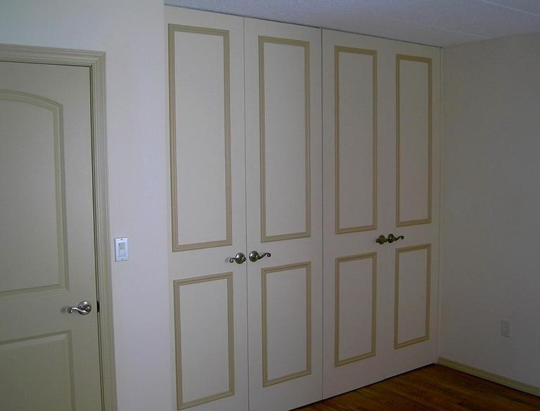 Replacing Bifold Closet Doors With Double Doors