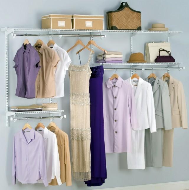 Wire Closet Organizer Kits
