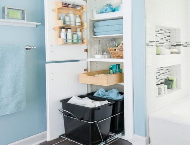 Bathroom Closet Organization Ideas Pinterest