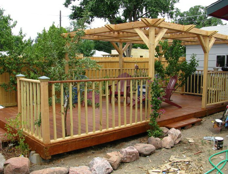 Building A Wood Deck Yourself