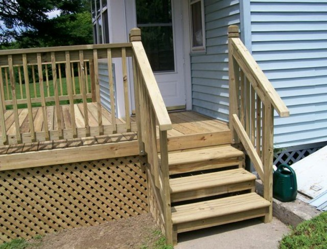 Mobile Home Deck Pictures