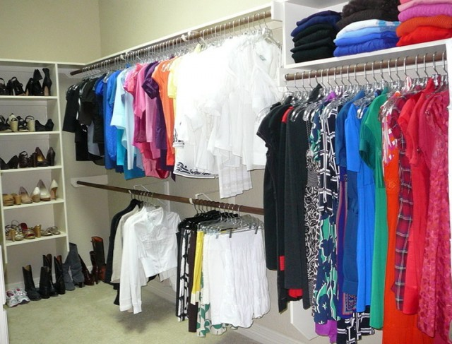 Organizing A Walk In Closet