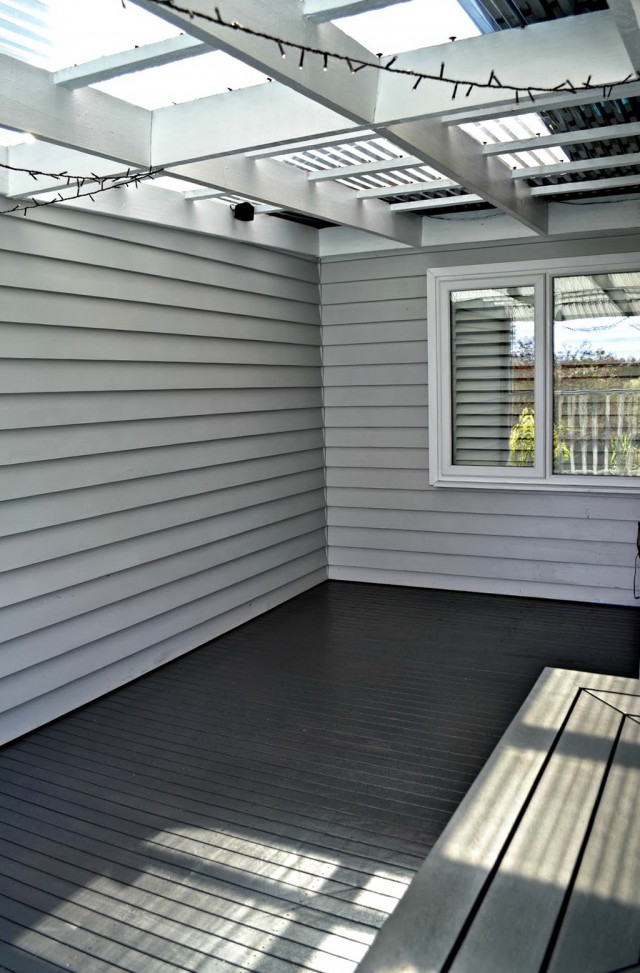 Painting A Deck Black