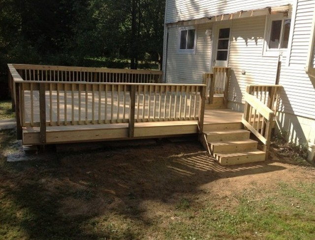 Pressure Treated Deck Boards Spacing