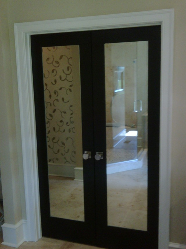 Closet French Doors With Mirrors