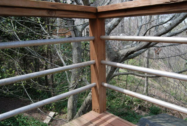 Inexpensive Deck Rail Ideas