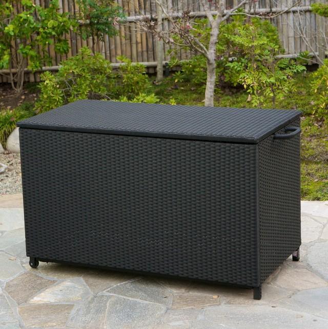 Outdoor Deck Box Black