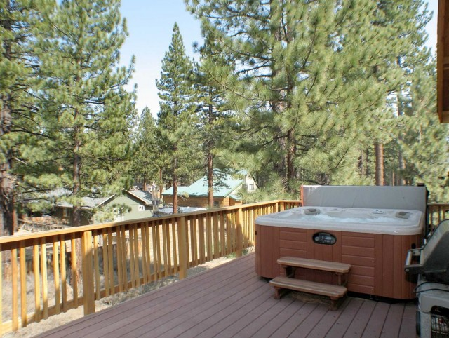 Second Story Deck Hot Tub