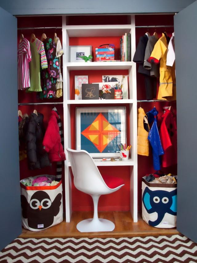 Kids Closet Organizers Ideas