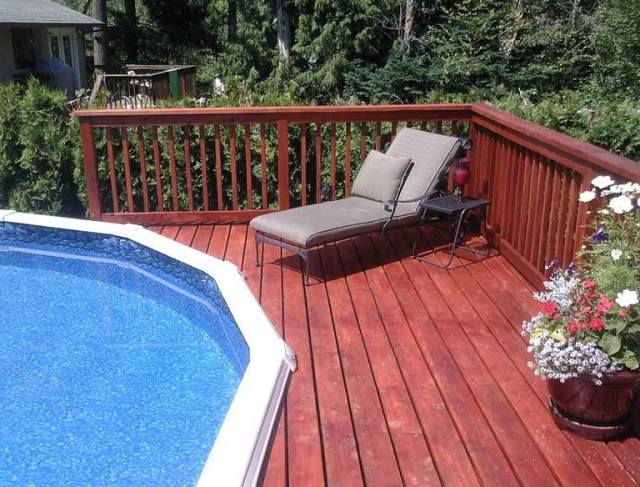 Small Pool Deck Ideas