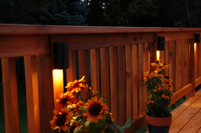 Solar Lighting For Decks Railing
