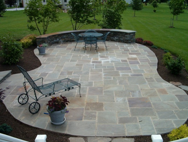 Stone Patio Deck Designs