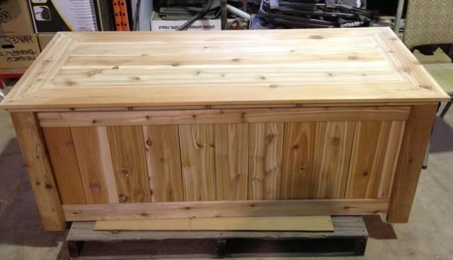 Wooden Deck Box Plans