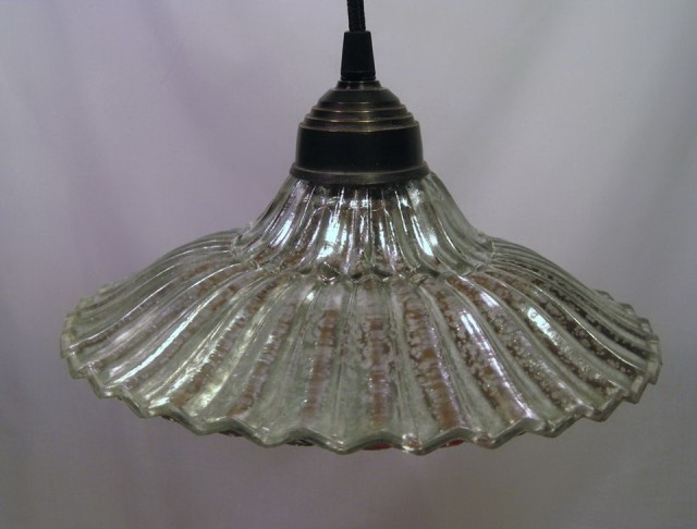 Brantley Antique Mercury Glass Chandelier