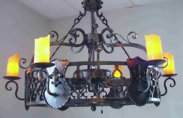 Cast Iron Chandelier Uk