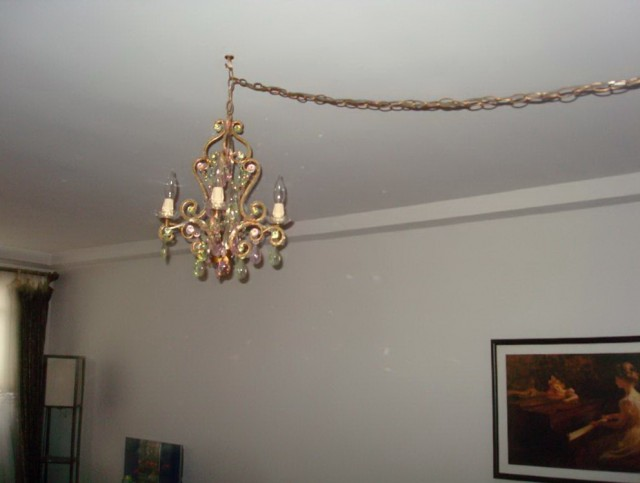 Chandelier Plug Into Wall