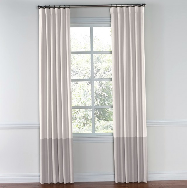 Color Block Curtains Drapes