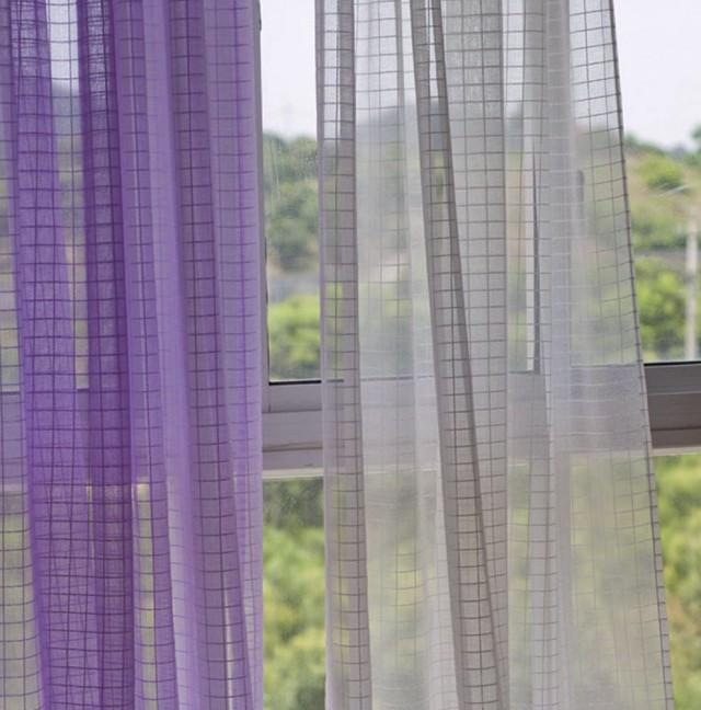 Contemporary Sheer Curtain Panels