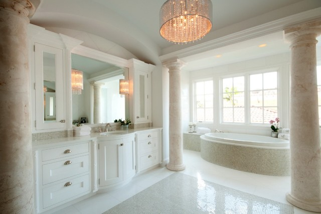 Crystal Chandeliers For Bathrooms
