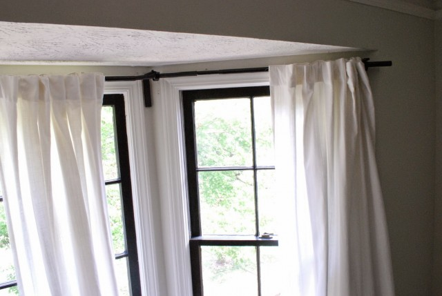 Curtain Rods For Bay Windows Ikea