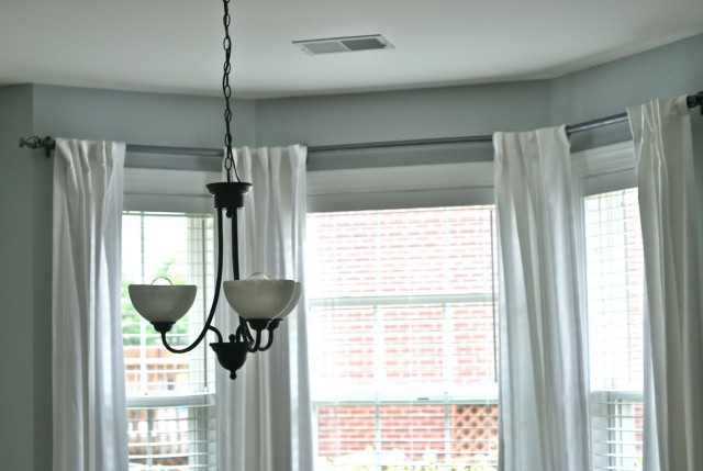 Curtain Rods For Bay Windows Target