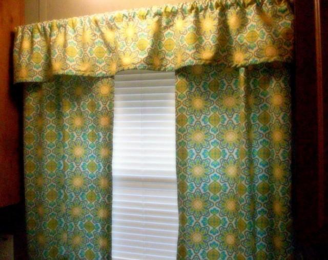 Diy Kitchen Curtains And Valances