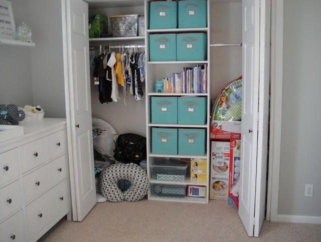 Double Door Storage Closet