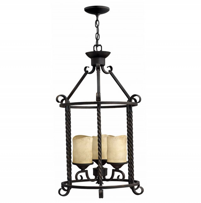 Faux Candle Chandelier Lighting