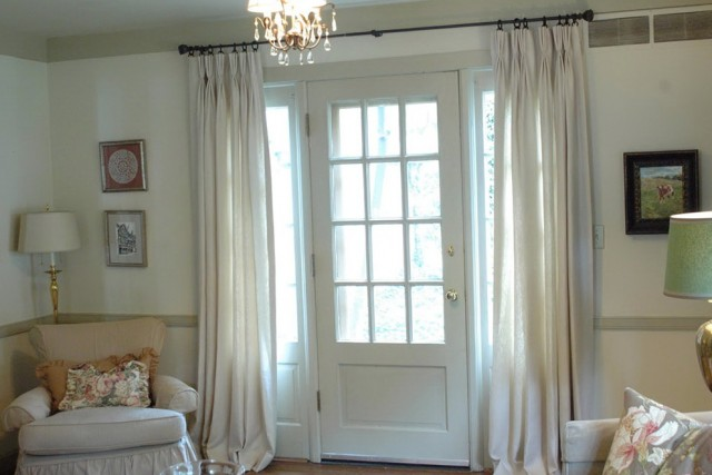 French Door Curtains Images