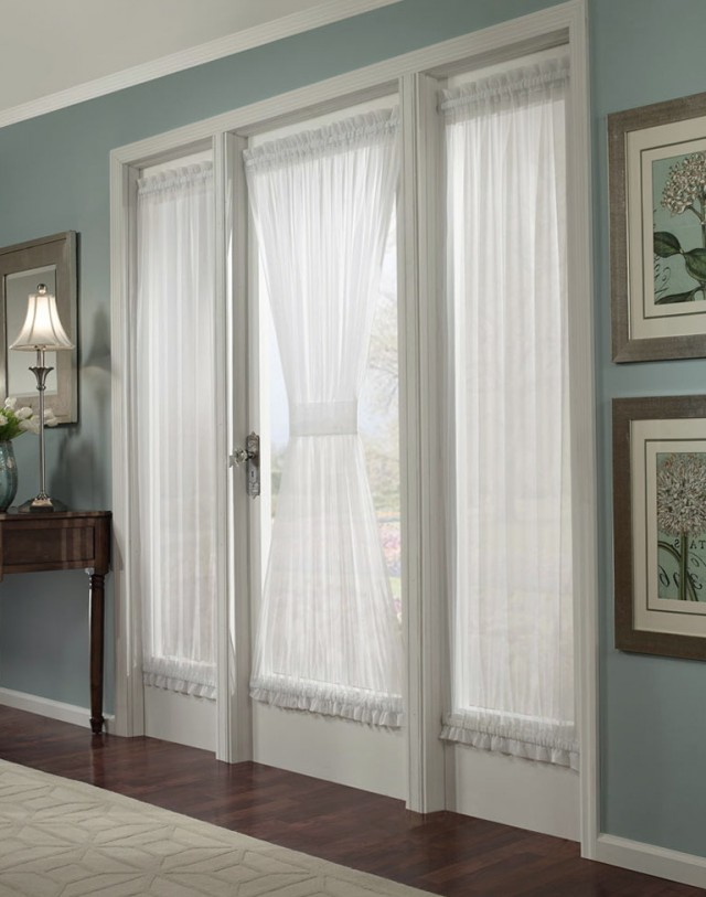 French Door Panel Curtains