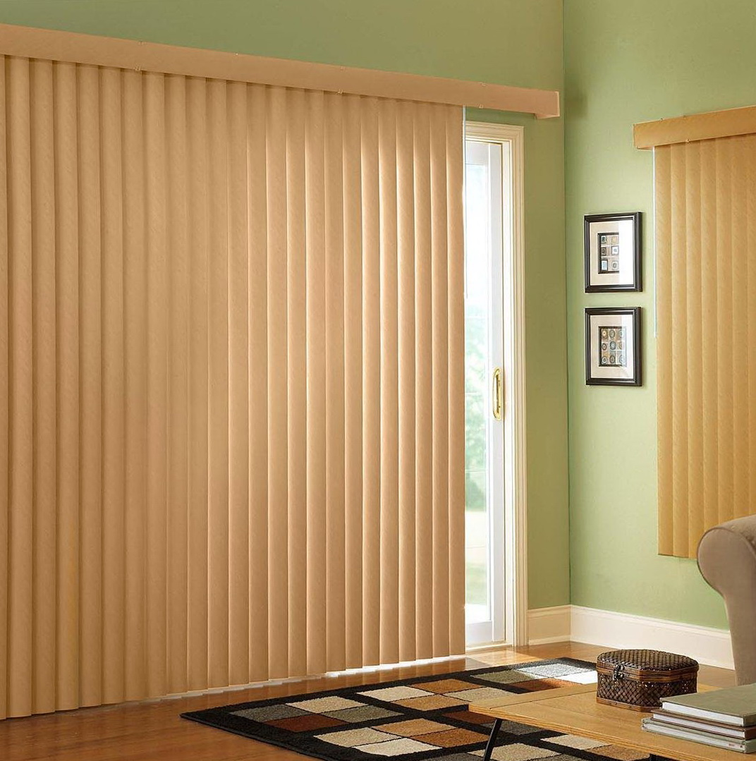 Pictures Of Sliding Glass Door Curtains