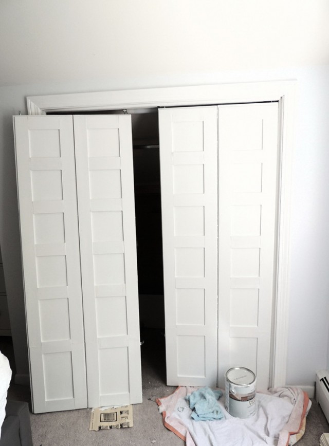 Replacing Bifold Closet Doors