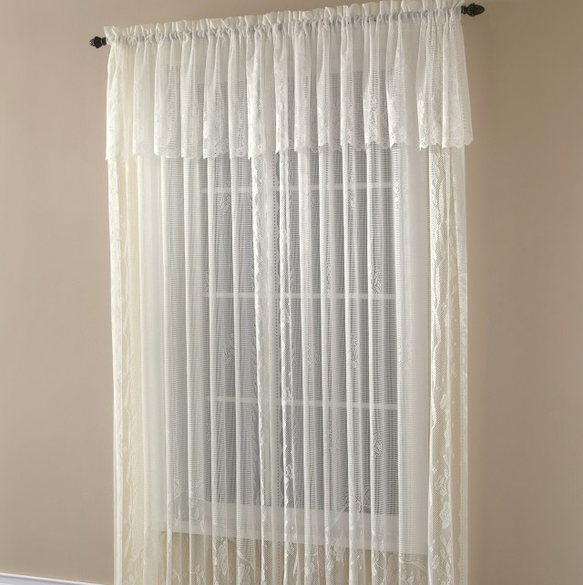 Rod Pocket Curtains Attached Valance