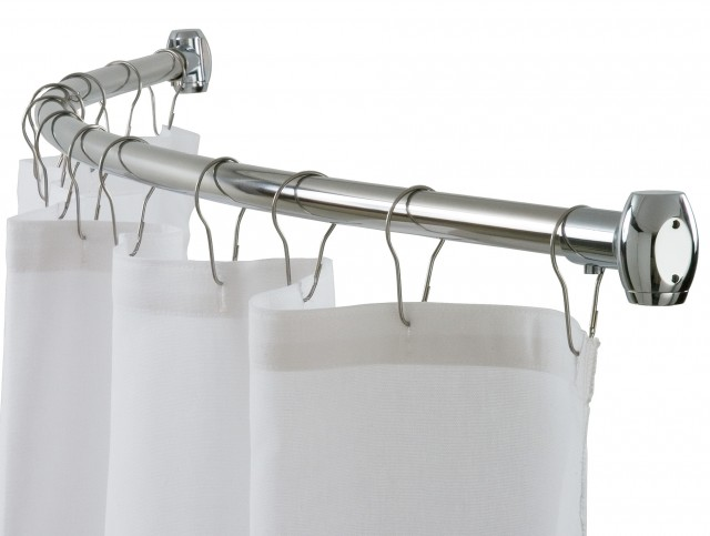 Shower Curtain Rods Curved