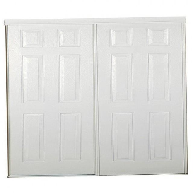 Six Panel Sliding Closet Doors