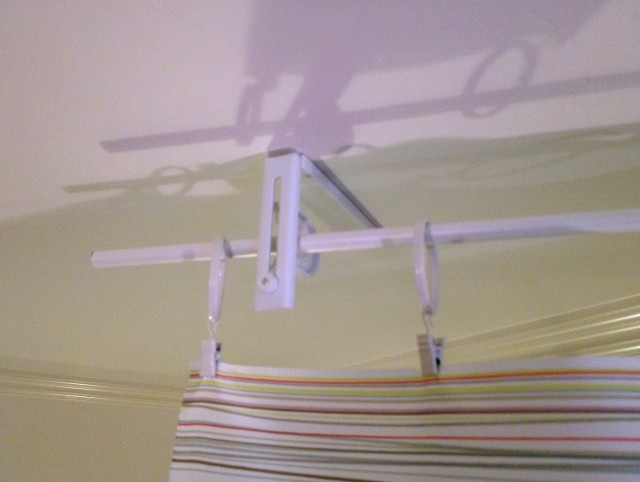 Ceiling Mounted Curtain Rods Ikea