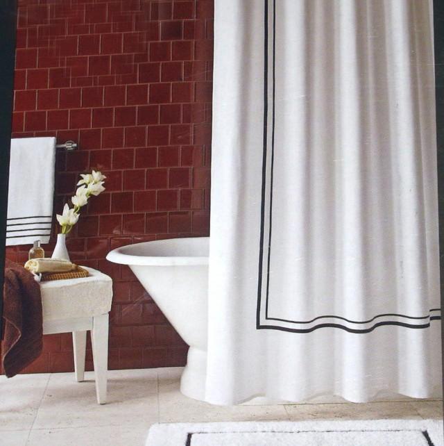 Cotton Shower Curtain Target