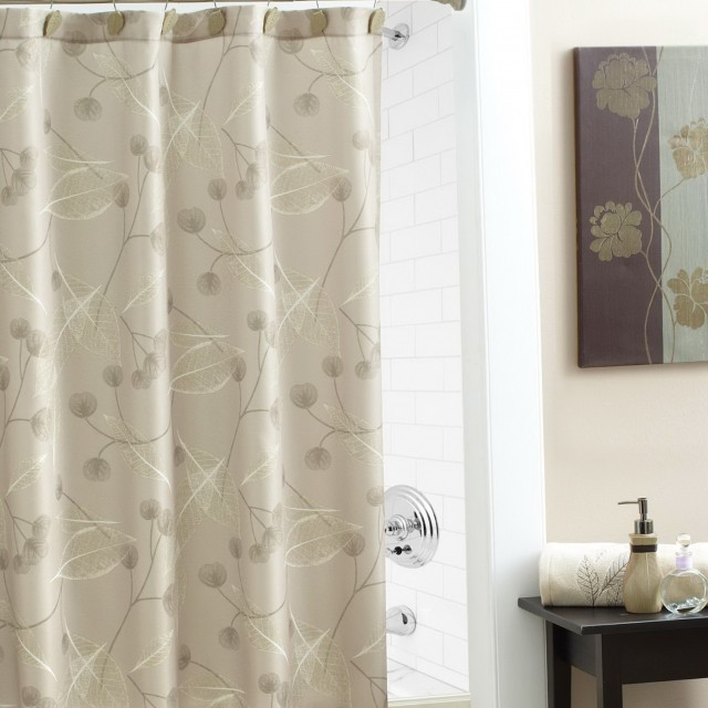 Elegant Shower Curtains With Valance