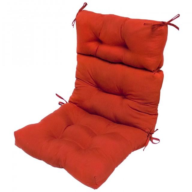High Back Outdoor Chair Cushions