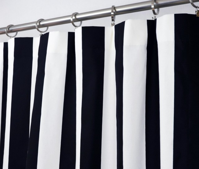 Navy Blue And White Kitchen Curtains