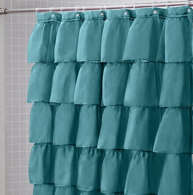 Polyester Shower Curtain Fabric