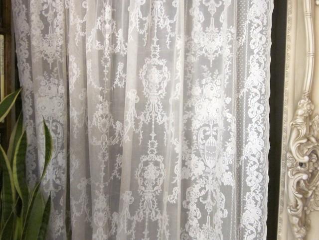 Vintage Lace Curtain Panels