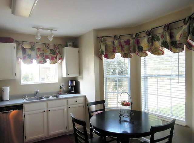 Dining Room Window Curtain Ideas