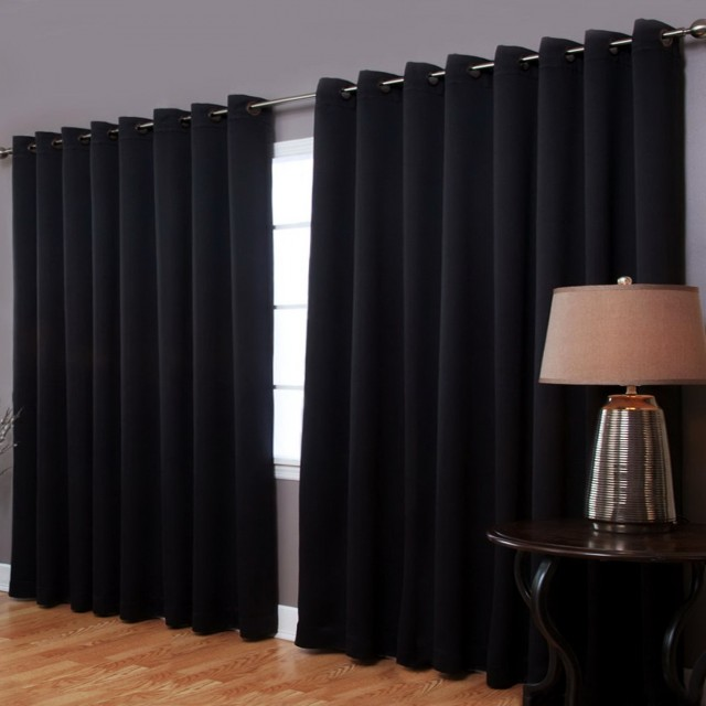 Extra Wide Window Curtains
