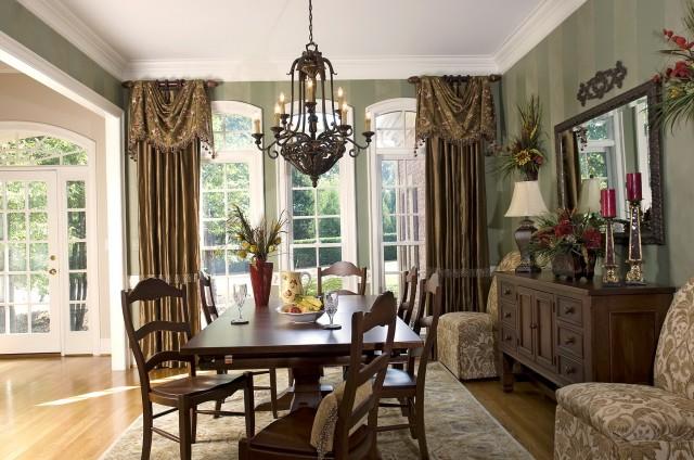 Formal Dining Room Curtain Ideas