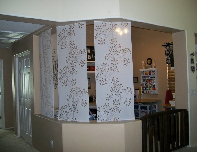 Ikea Panel Curtains As Room Divider