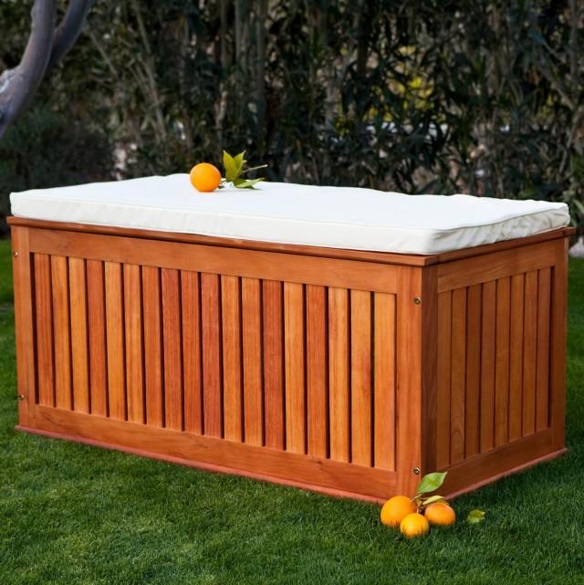 Outdoor Cushion Storage Ideas