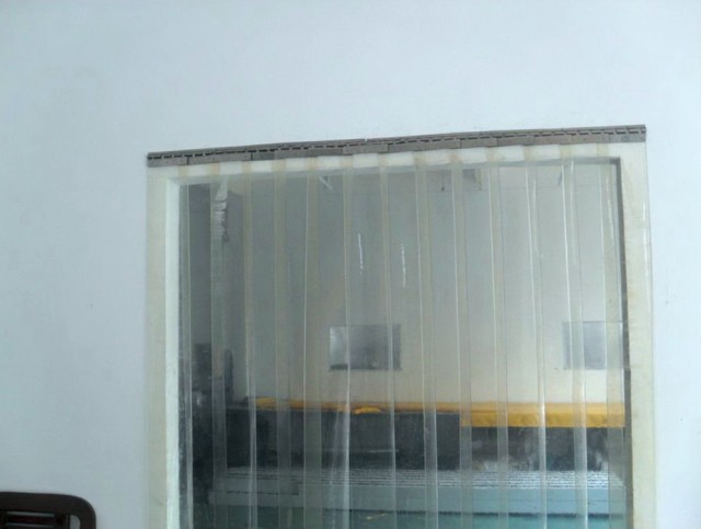 Plastic Garage Door Curtains