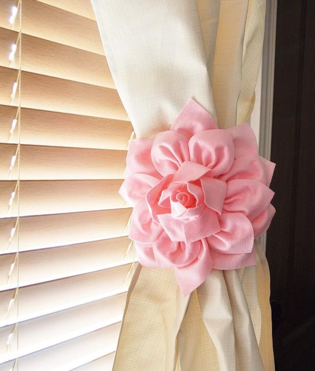 Ribbon Tiebacks For Curtains